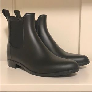 J. Crew Mercantile Rain Boots, Black Booties
